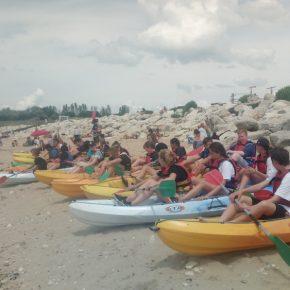 2018 Frankreichaustausch Kayak 3