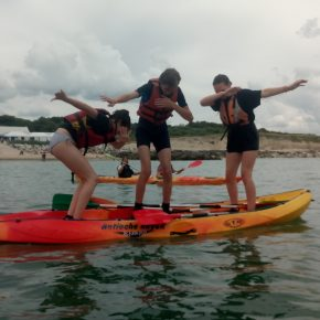 2018 Frankreichaustausch Kayak 40