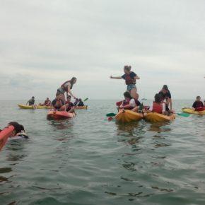 2018 Frankreichaustausch Kayak 45