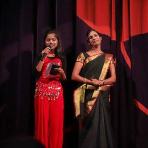 Unsere Gäste aus Indien.