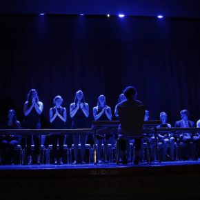 Musikkurs der KS2. Stomp.