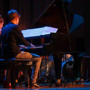 Liv und Johann spielten vierhändig Brahms.