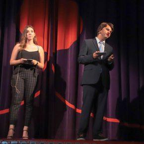 Frau Kubach und Herr Bartmann moderierten souverän durch den Abend.