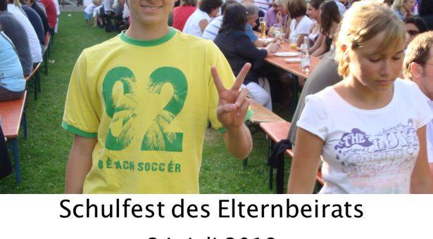 Schulfest am 24. Juli 2018