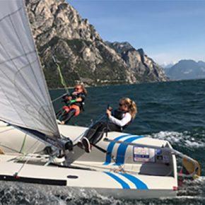 Gardasee - Halbwind