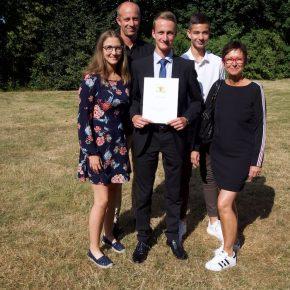 Marius mit Familie