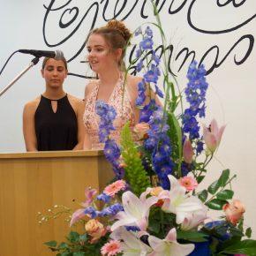 Schülersprecherin Lara Tiedemann