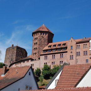 2018 07 Landheim Klasse 6 - Burg Rieneck 13