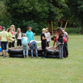 2018 07 Landheim Klasse 6 - Burg Rieneck 7