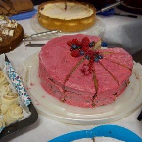 Die Eltern derweil... Kuchen