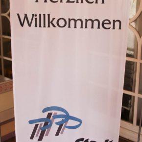 Willkommen ...und nun auf Wiedersehen in Philippsburg