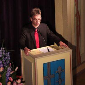 Matthias Hutter, der Vorsitzende des Elternbeirates
