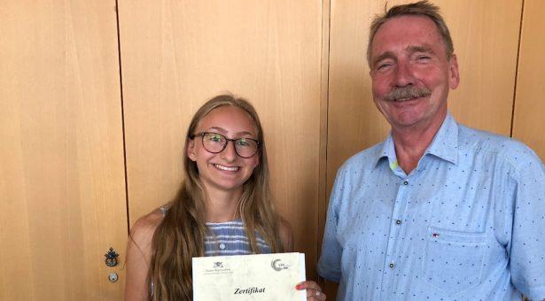Chiara Seith wird Sportmentorin