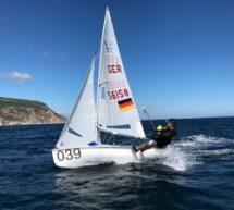 Die Jugend-Europa-Meisterschaft im 420er in Sesimbra