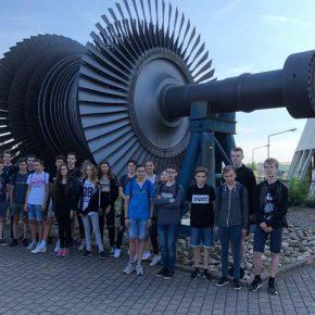 Alte ausgebaute Turbine