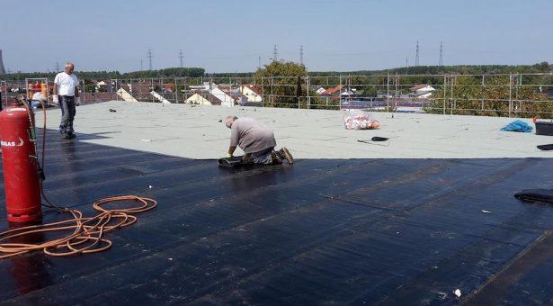 Das Copernicus-Gymnasium hat ein neues Dach (Bau 1)