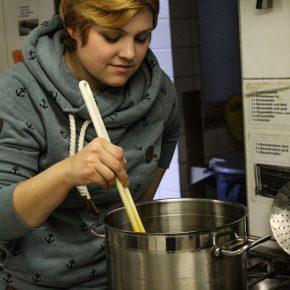 Frau Geißler kann kochen