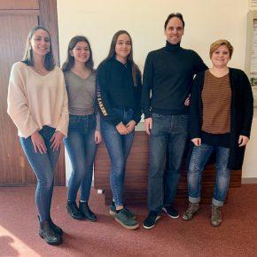 Organisierten mit der SMV: Hanna Bauni, Isabel Geibel, Leonie Brunner, Herr Wimmer und Frau Geißler