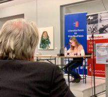 Lisa Herberger von der Literarischen Gesellschaft ausgezeichnet