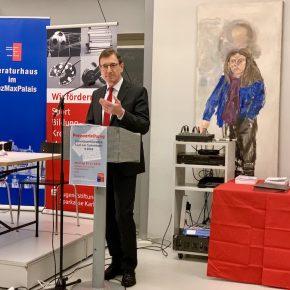 Herr Michael Huber, Vorsitzender des Vorstandes der Sparkasse Karlsruhe