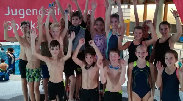 CopGym bei den 31. Schüler-Schwimm-Meisterschaften