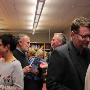 Willi Vocke, Lehrer bis 2011, im Gespräch mit Peter Müller