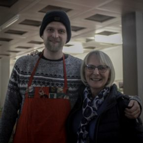 Herr Bechter mit Frau Geiß
