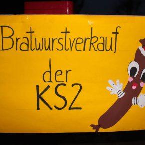 Der Bratwurstverkauf der KS2