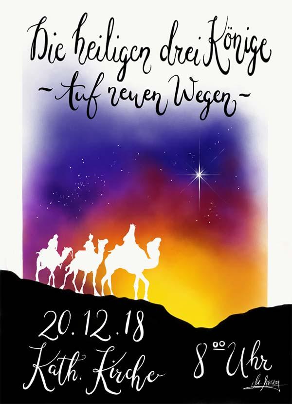 Plakat Gottesdienst 2018