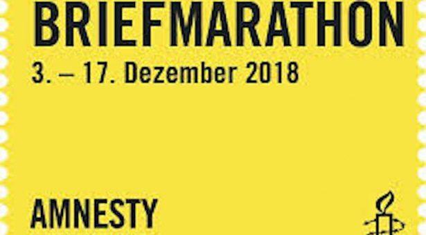 CopGym beim Amnesty-Briefmarathon 2018