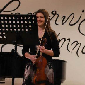 Isabel (Klasse 10) und Händel
