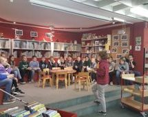 Besuch der Stadtbibliothek der Klasse 6c
