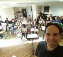 Probentage des Schulorchesters und des Schulchors