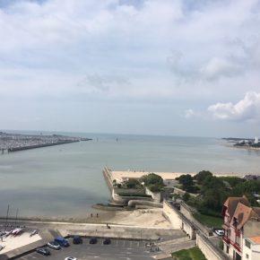 Blick auf den Hafen, Tag 4