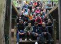 Ausflug Kletterpark Klasse 7a und 7c