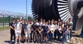 Klasse 9c im Kernkraftwerk Philippsburg
