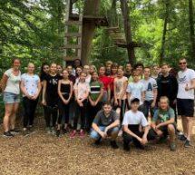 Klasse 7B im Kletterwald Speyer