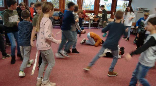 """Projekt """"Gewaltig-Junior"""" in den 5. Klassen"""