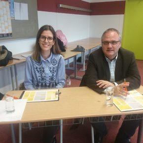 Frau Begic und B Bürgermeister Stefan Martus
