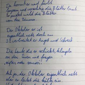 Gedicht Colin