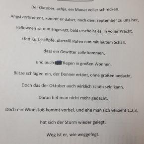 Gedicht Matthias