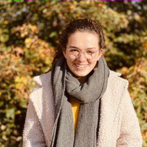 Theresa ist Mitglied der Schulkonferenz und Pressereferentin