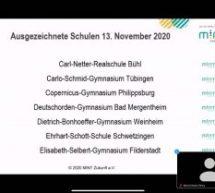 Der dritte Stern! Copernicus-Gymnasium erneut als MINT-freundliche Schule ausgezeichnet.