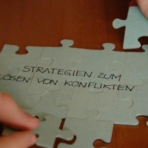 Strategien zum Loesen von Konflikten