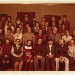 Kollegium im Jahr 1976/77