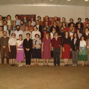 Kollegium im Jahr 1979/80