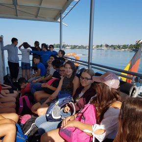 2018 07 Am Bodensee - Klassen 6 123