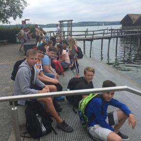 2018 07 Am Bodensee - Klassen 6 7